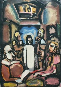 Jesus and the Outcasts (Rouault)